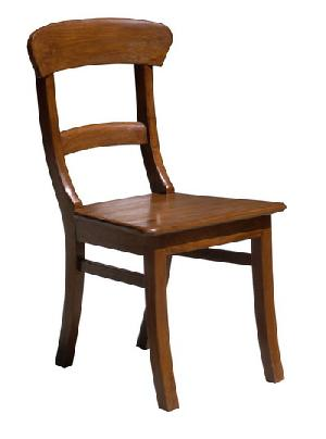 curve dining chair room kiln dry mahogany wood