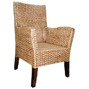 rattan dining chair arm rest