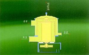 middle concentration outflow pressure screen