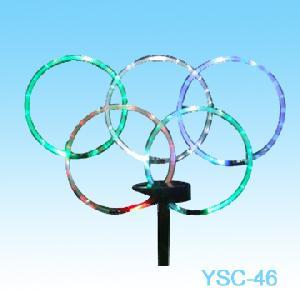 solar five rings lights