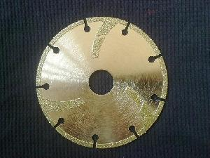 115mm electroplated diamond blades turbo pads