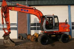 sold fiat hitachi ex165w rail road
