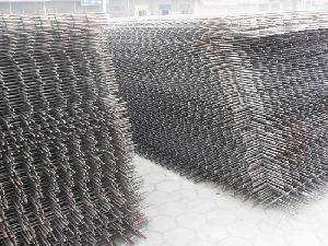 6 x béton nervuré treillis métallique soudé des matériaux de construction concret