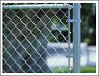 chain link wire mesh fence diamond rhombic haiti