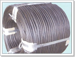 soft annealed iron wire constructions