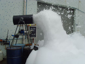 stage light foam machine phs002