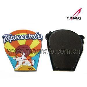 soft pvc fridge cartoon magnet