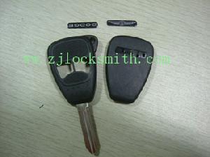 chrysler 2button remote key shell