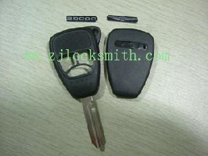 chrysler 3button up remote key shell