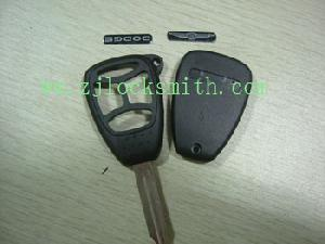 chrysler 4b remote key shell