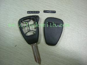 chrysler 6 button remote key shell