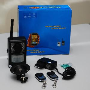 gsm mms camera alarm system home security