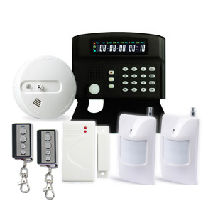 intelligent gsm house anti burglary home alarm system