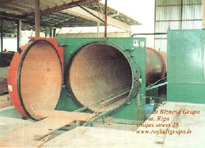 vacuum pressure impregnation plant wood protection