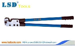 copper tube terminal crimping tools st 38