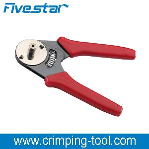 608 400 four mandrel coaxial crimping plier turned contacts