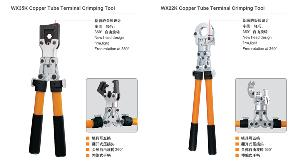 interchangeable molds crimping pliers opened pressure crimper telescopic handle