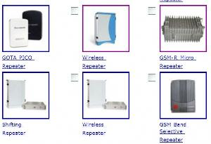 gsm cdma wcdma wlan tetra wimax repeater repeaters components
