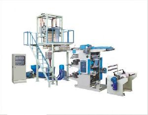 blown flexography printing line machine