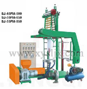 hdpe ldpe film blowing machine ordinary