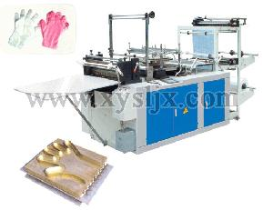 rht 500 600 computer disposable plastic glove machine
