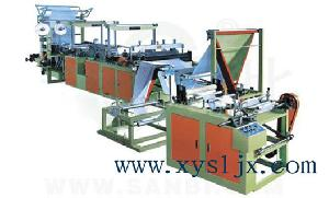 ribbon rolled garbage bag machine