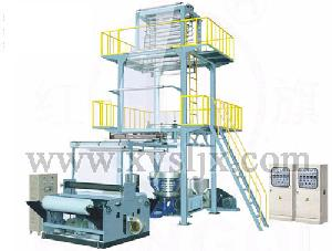 tier co extrusion rotary die film blowing machine