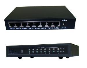 desktop 8 port 10 100mbps poe ethernet switch