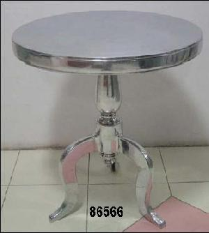 round solid aluminium reading coffee table restaurant hotel furniture