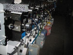 label printing press gallus em 280 uv ist 2006