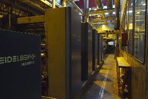 machine heidelberg offset rotary press age 1998