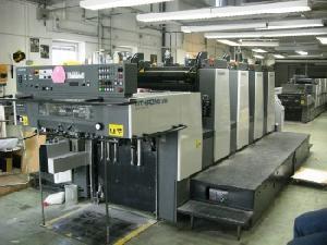 offset machine 2000 komori lithrone 428