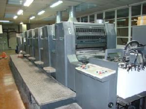 offset machine 2002 heidelberg speedmaster 74 4 l