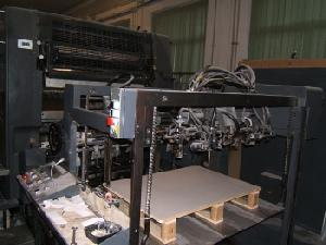 offset machine heidelberg 102 6 lx 1991