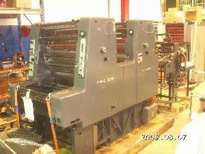 offset machine heidelberg mozp s colours