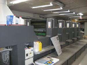 offset machine heidelberg sm74 5h 1999