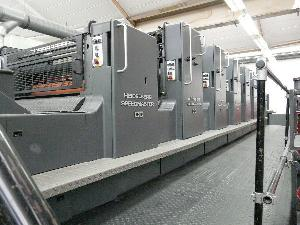 offset machineheidelberg speedmaster six colour l 1993