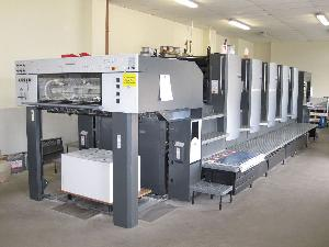 offset printing machine heidelberg speedmaster sm 102 5p2 five colour