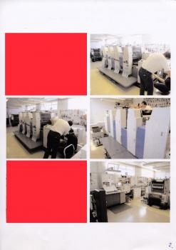 offset printing machine ryobi 524 hxp four colour
