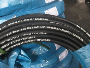 hydraulic rubber hose sae100 r1at