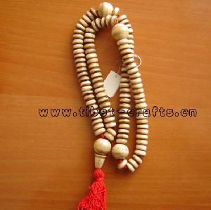 buddhism prayer 108 yak bone mala bead