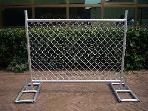 dip galvanized temporary chain link fence