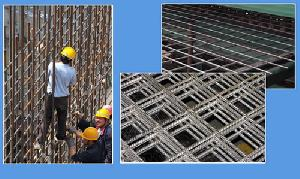square reinforcement mesh reinforcing bar steel welded wire