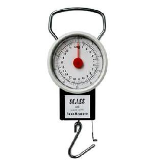portable mechanical hanging scale 1 meter measure tap weighing 35kg