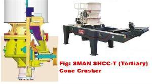 tertiary gyratory hydraulic cone crusher