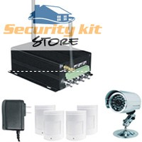 gsm gprs mms sms camera alarm system home security