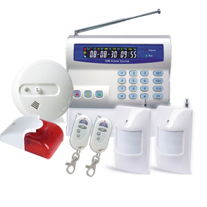 home alarm system contract gsm wireless
