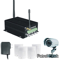 patrol hawk security gsm mms alarm system home