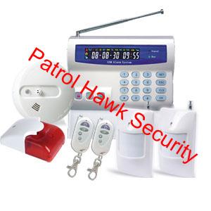 patrol hawk security home alarm system contract
