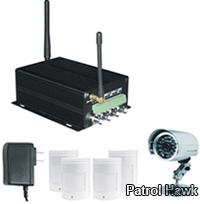 patrol hawk security mms remote camera alarm system